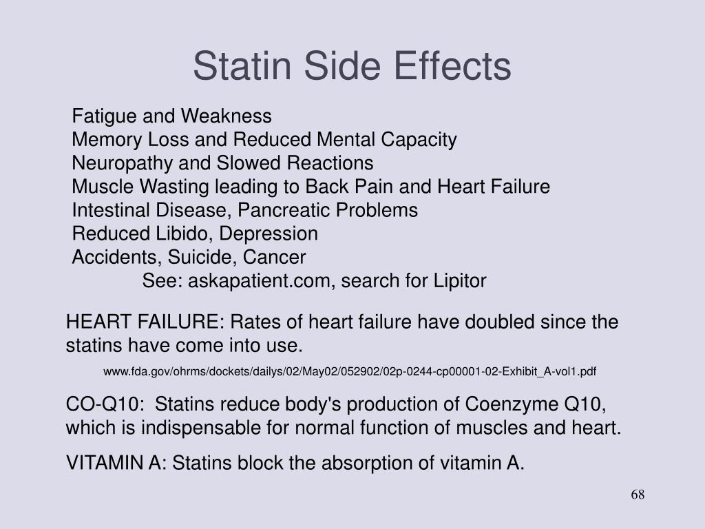 Statin Side Effects