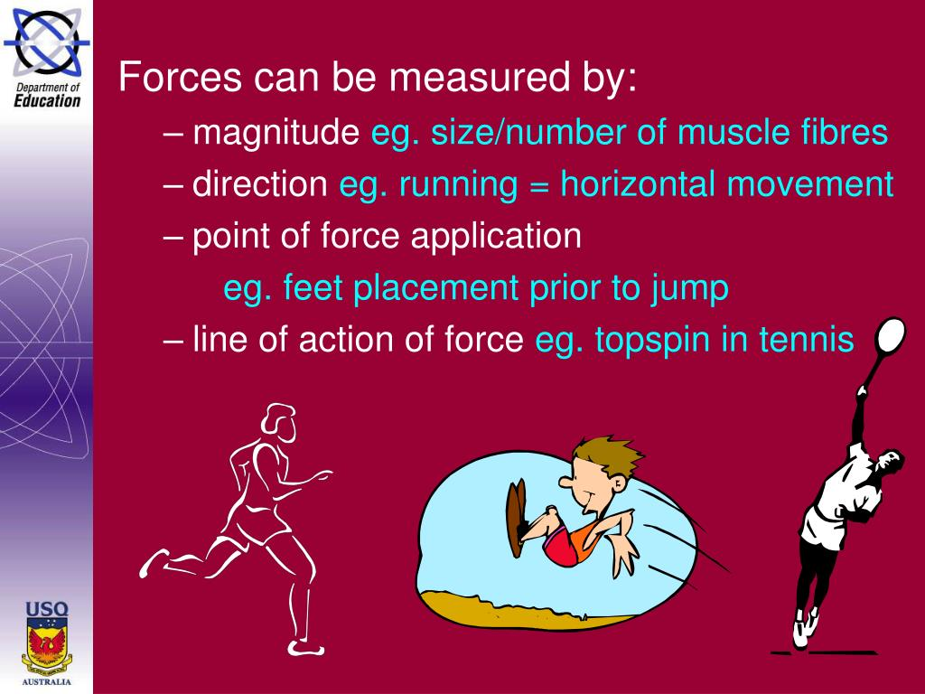 Forces can be measured by:
