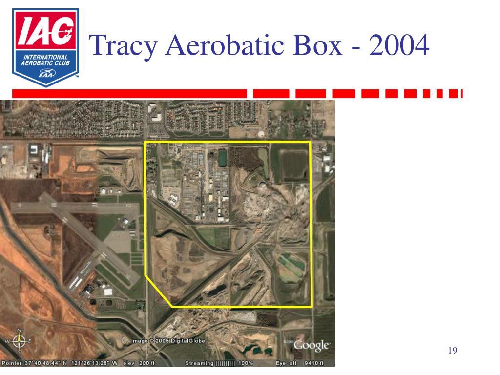Tracy Aerobatic Box - 2004