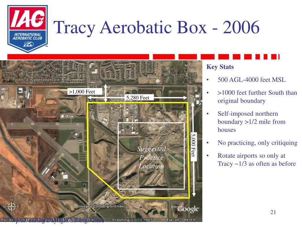 Tracy Aerobatic Box - 2006