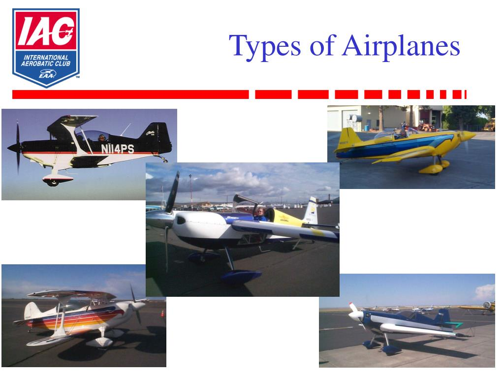 Types of Airplanes
