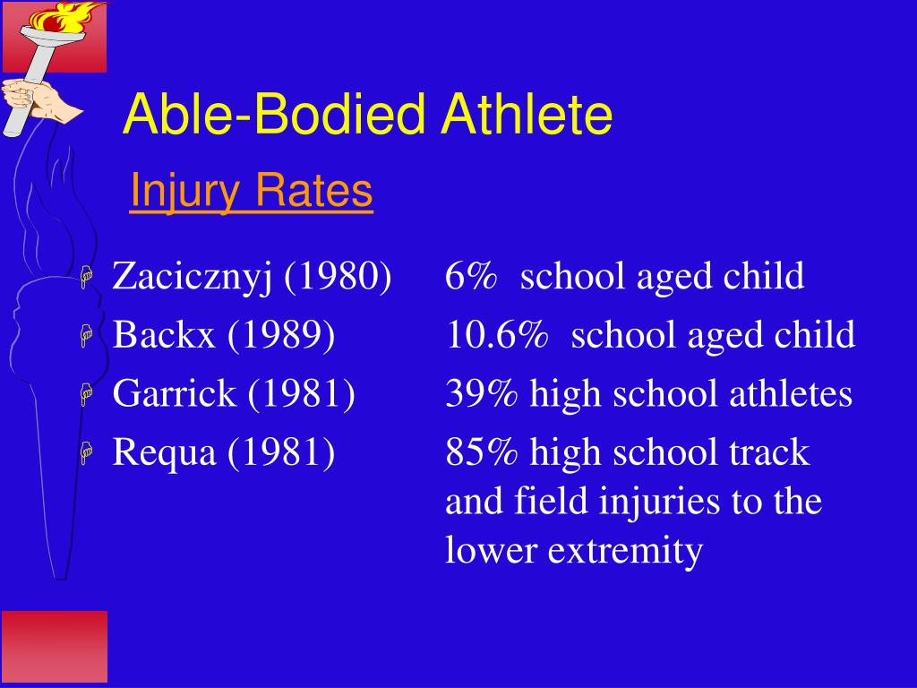 Able-Bodied Athlete