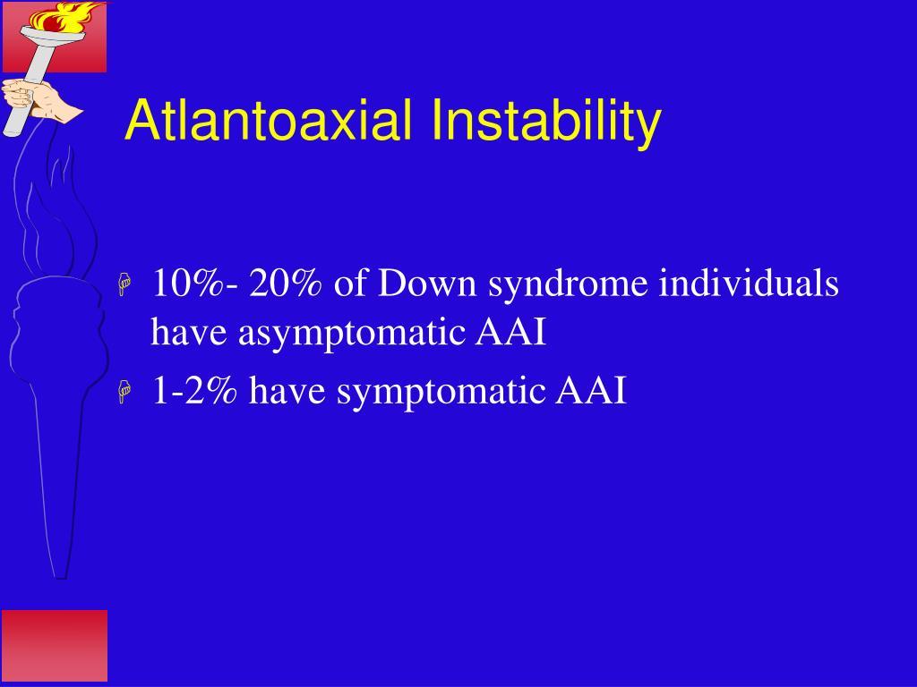 Atlantoaxial Instability