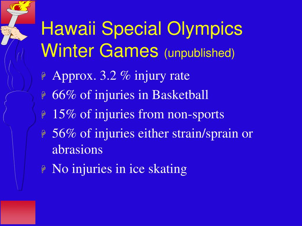 Hawaii Special Olympics Winter Games