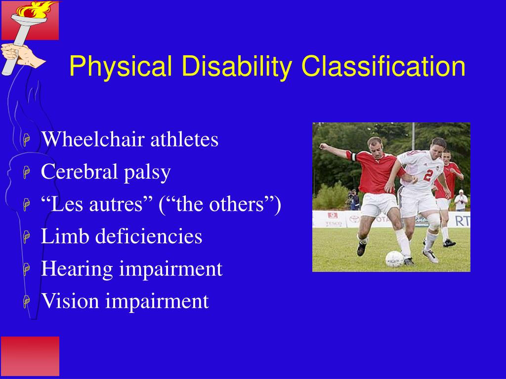 Physical Disability Classification