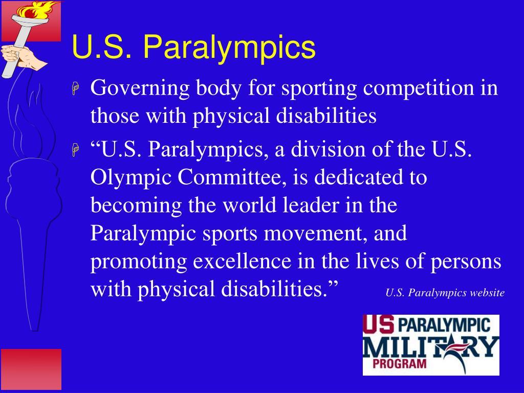 U.S. Paralympics