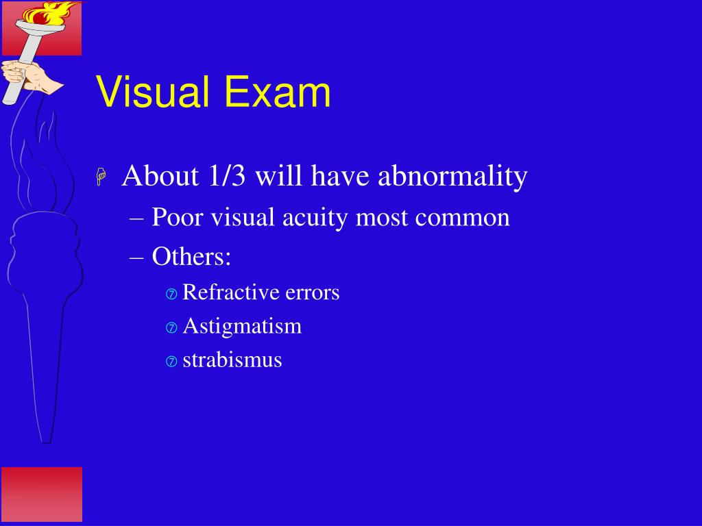 Visual Exam
