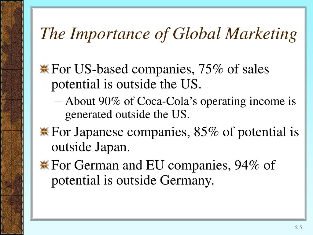 international marketing importance and role 1 marketing in non-profit organizations – an international perspective sara dolnicar and katie lazarevski marketing research innovation centre (mric.