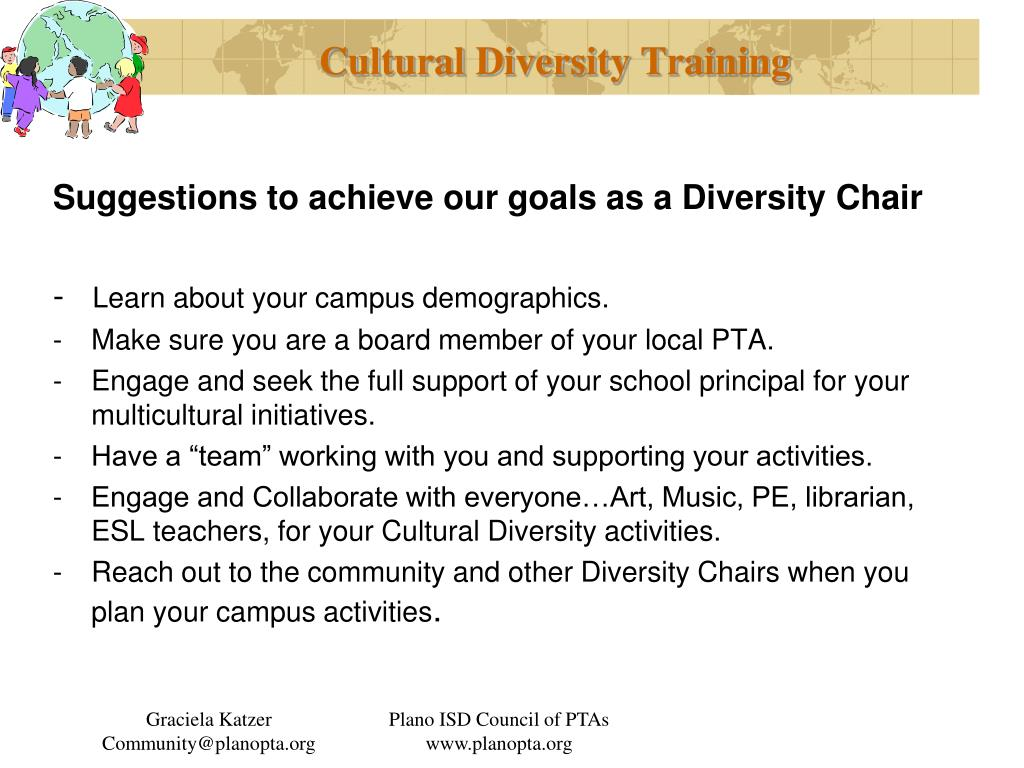 Cultural Diversity Training