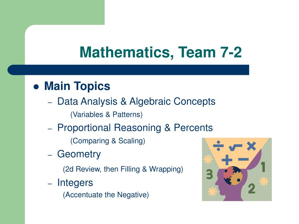 Mathematics, Team 7-2