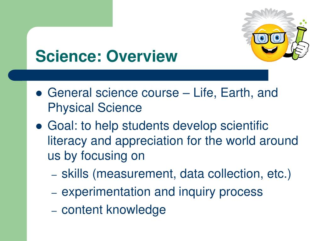 Science: Overview