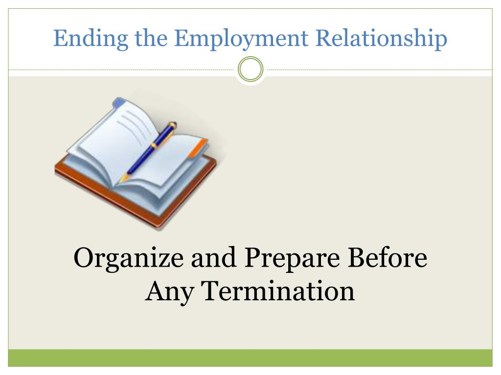 Ending the Employment Relationship