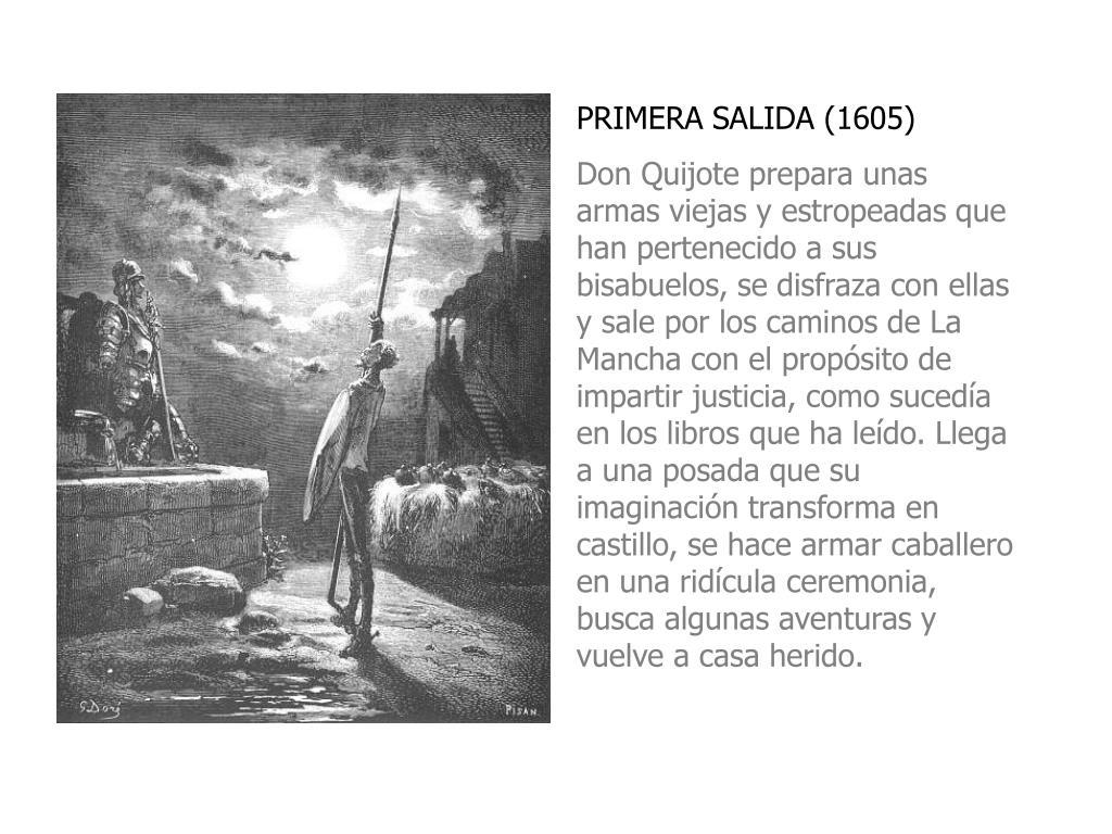 PRIMERA SALIDA (1605)