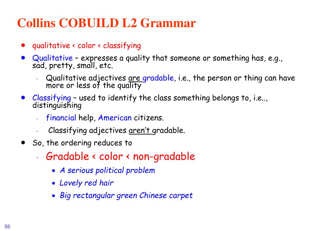 Collins COBUILD L2 Grammar