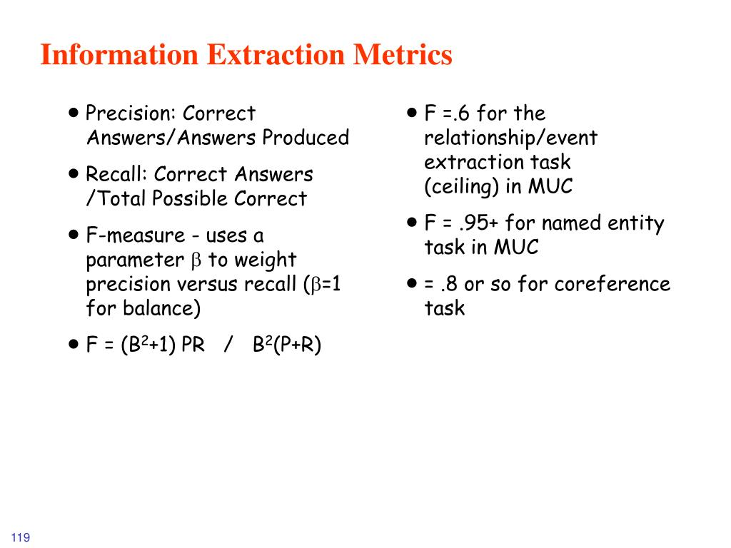 Precision: Correct Answers/Answers Produced