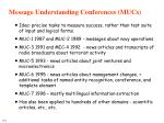 message understanding conferences mucs