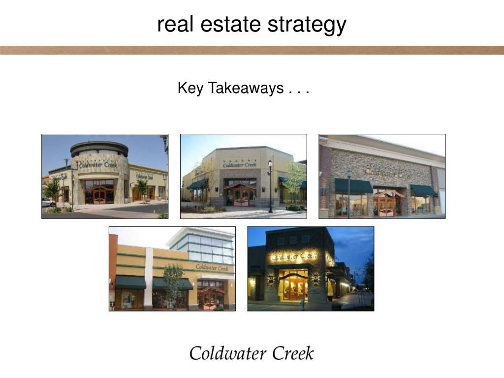 real estate strategy