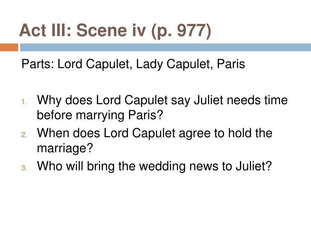 Act III: Scene iv (p. 977)