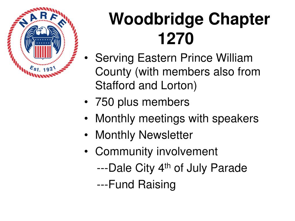 Woodbridge Chapter 1270