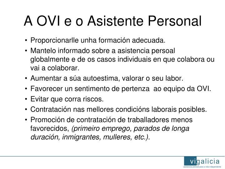 A OVI e o Asistente Personal