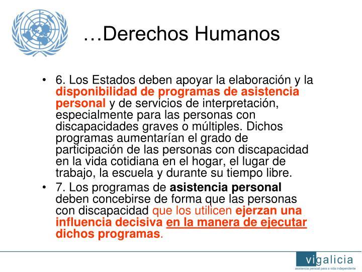 …Derechos Humanos