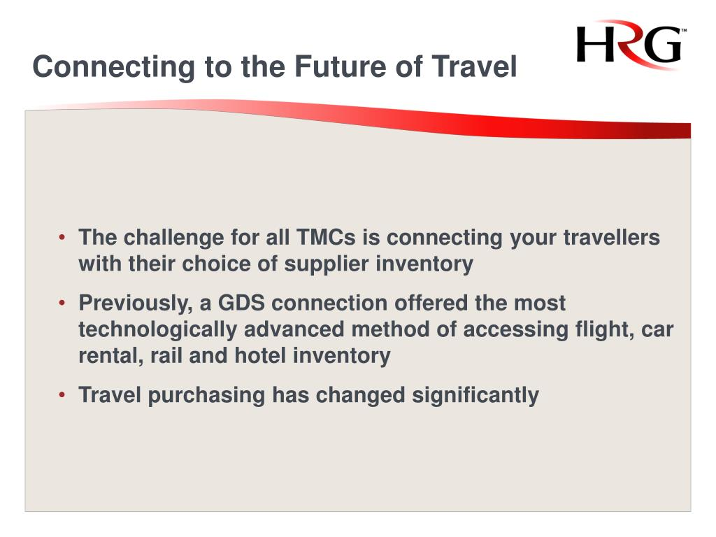 Connecting to the Future of Travel