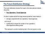 the future distribution strategy