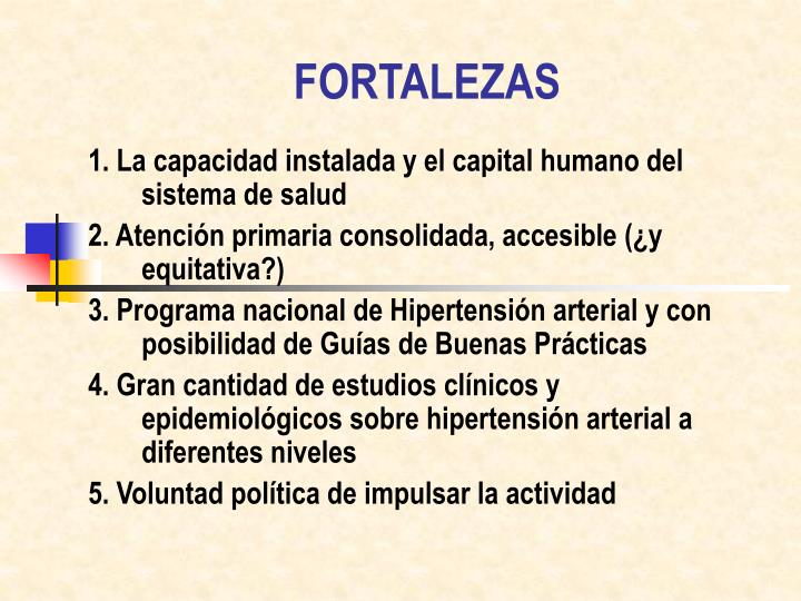 FORTALEZAS