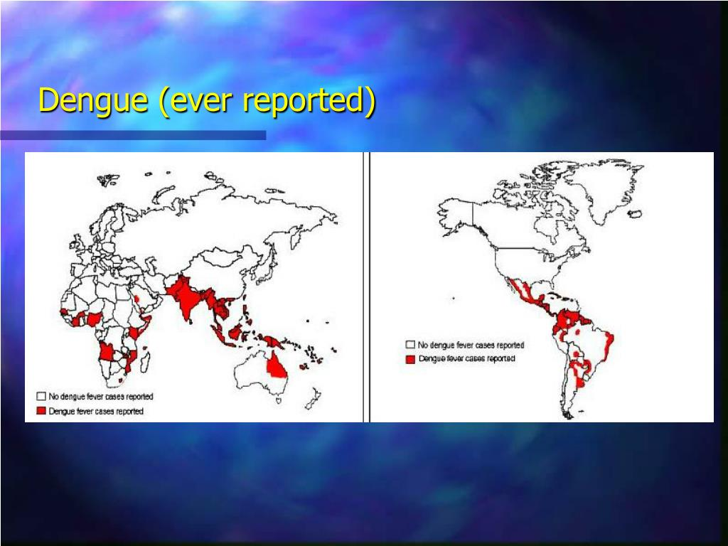 Dengue (ever reported)
