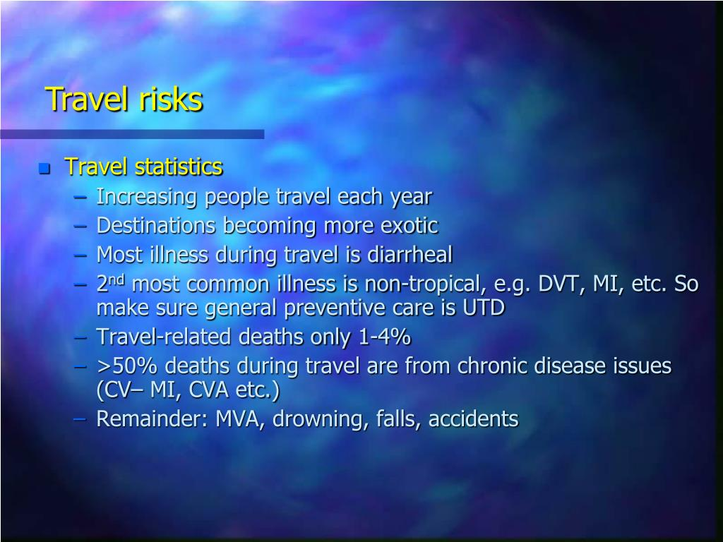 Travel risks