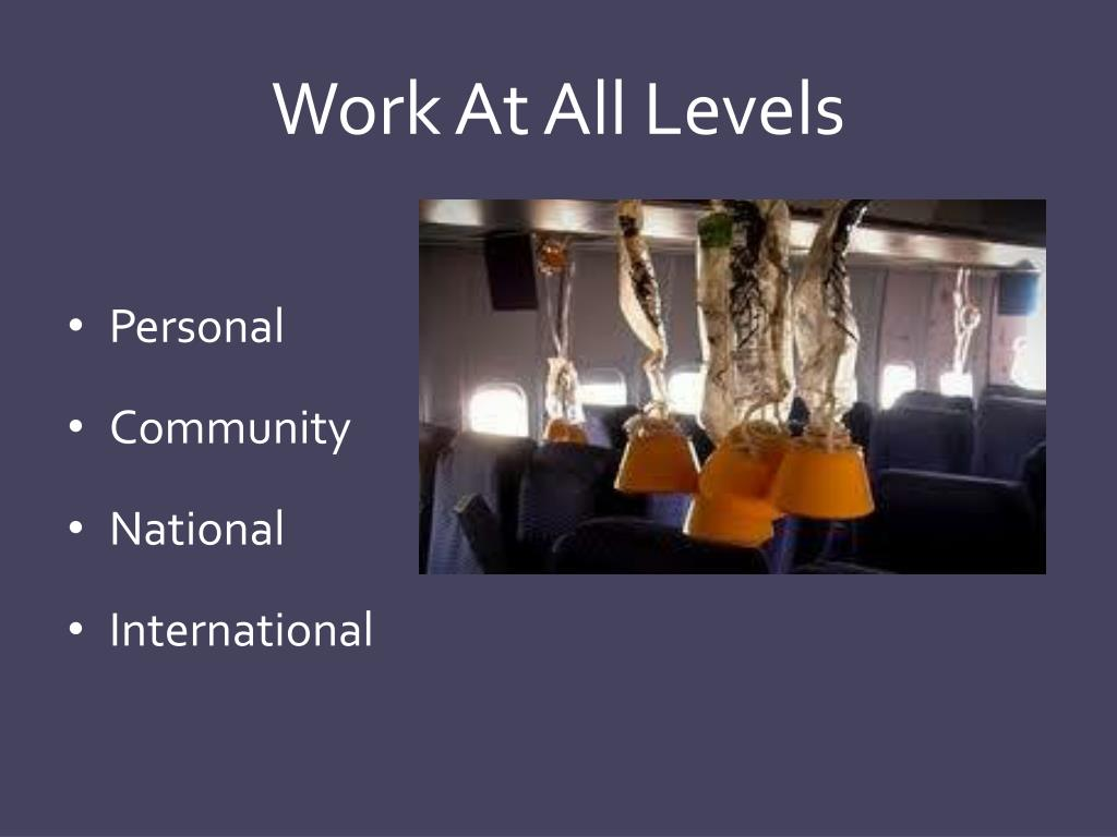 Work At All Levels