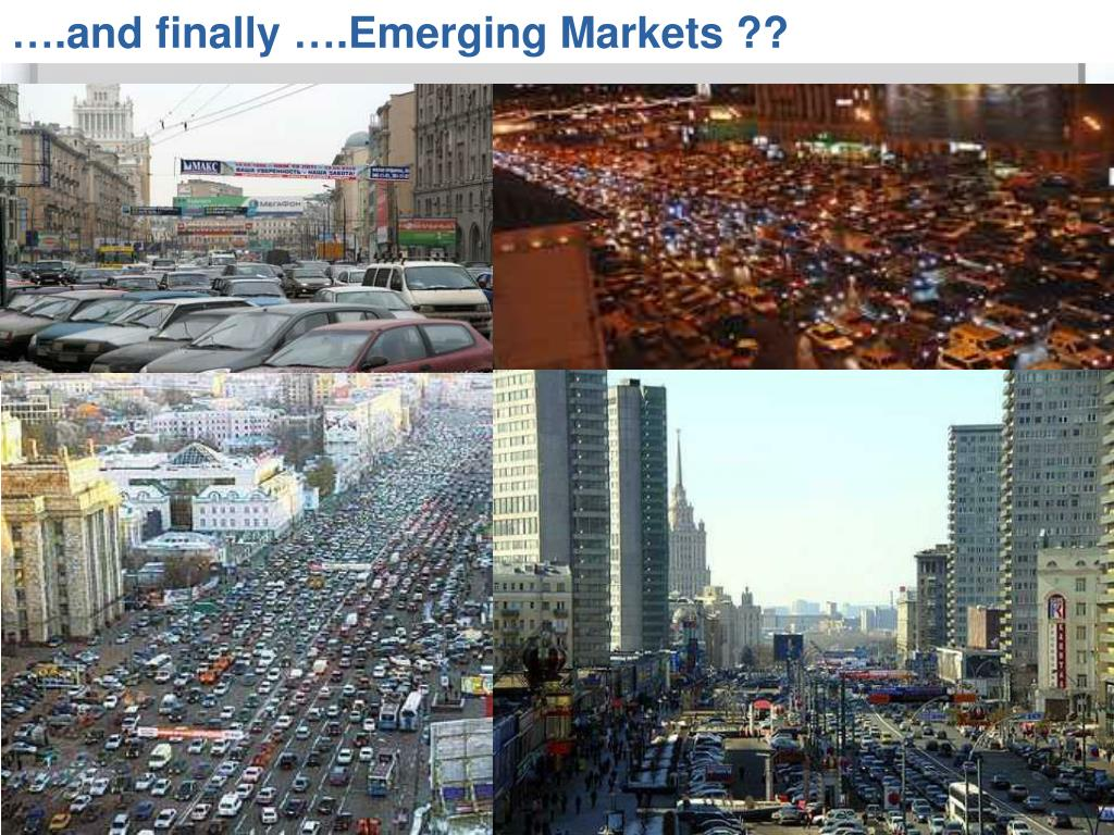 ….and finally ….Emerging Markets ??