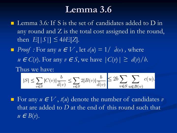 Lemma 3.6