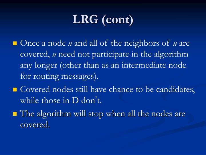 LRG (cont)