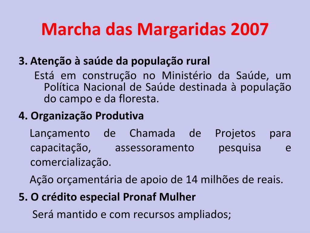Marcha das Margaridas 2007