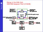 energy in the lng chain 1000 mw gaspower plant 1 5 bcm