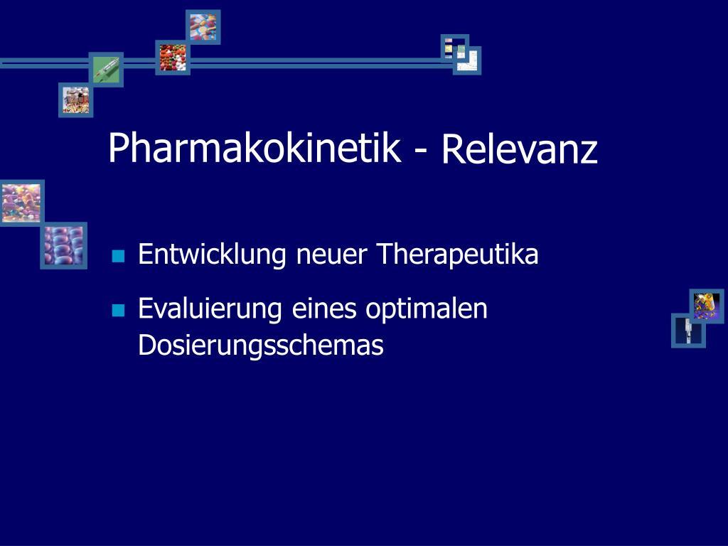 Pharmakokinetik