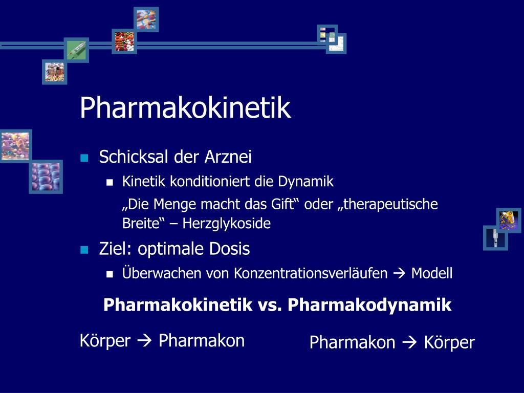 Schicksal der Arznei