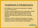 investment in infrastructure