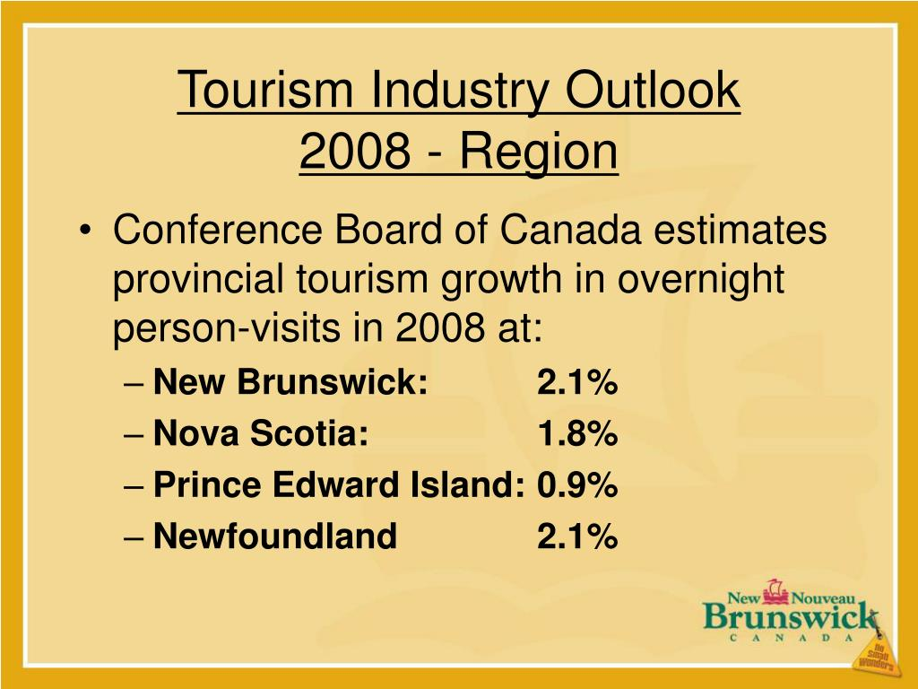 Tourism Industry Outlook