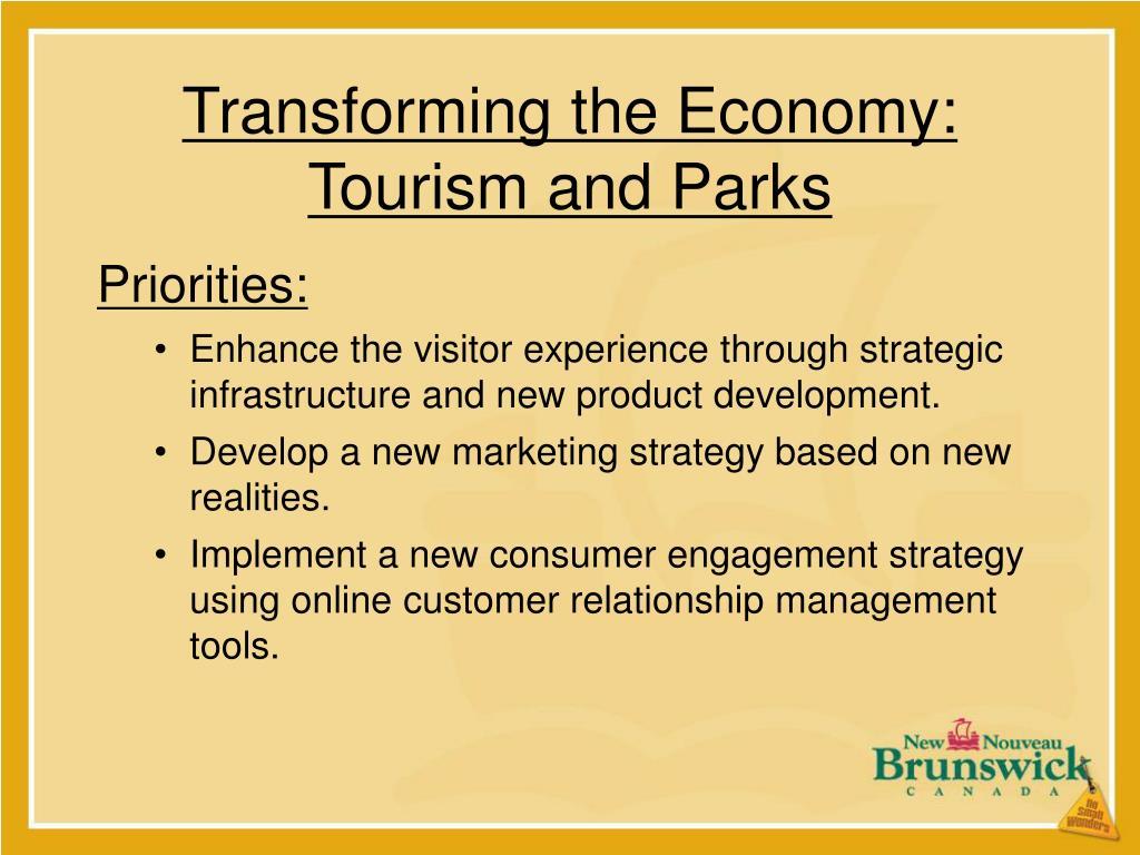 Transforming the Economy: