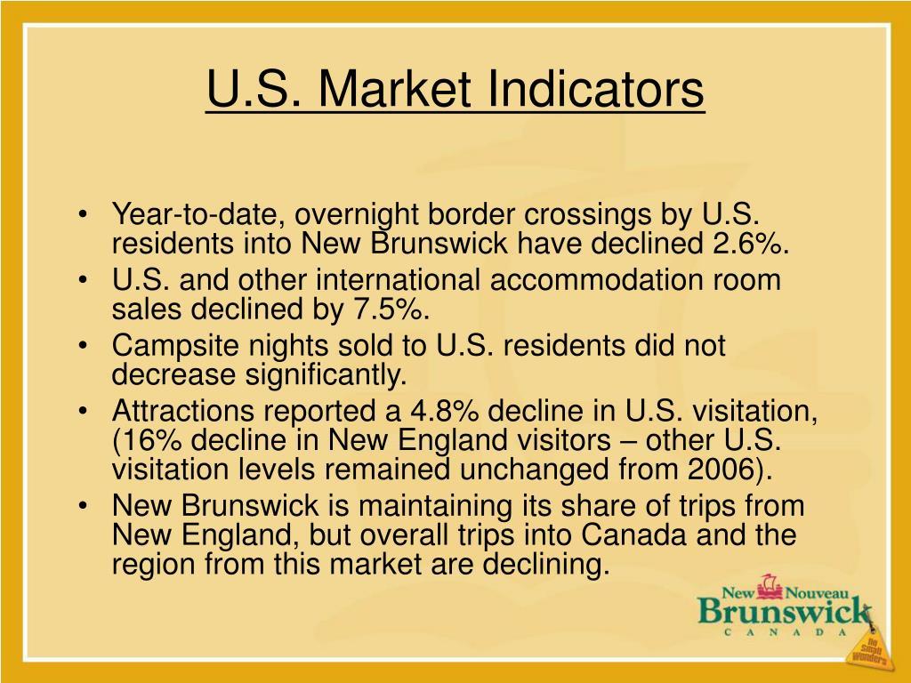 U.S. Market Indicators