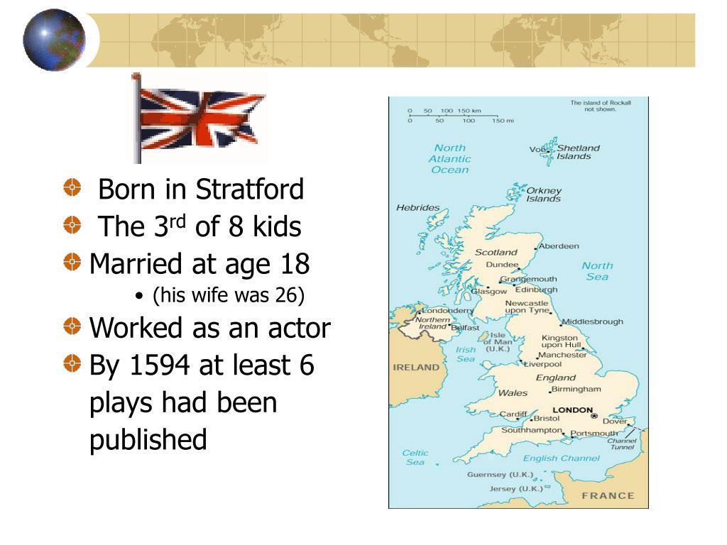 Born in Stratford