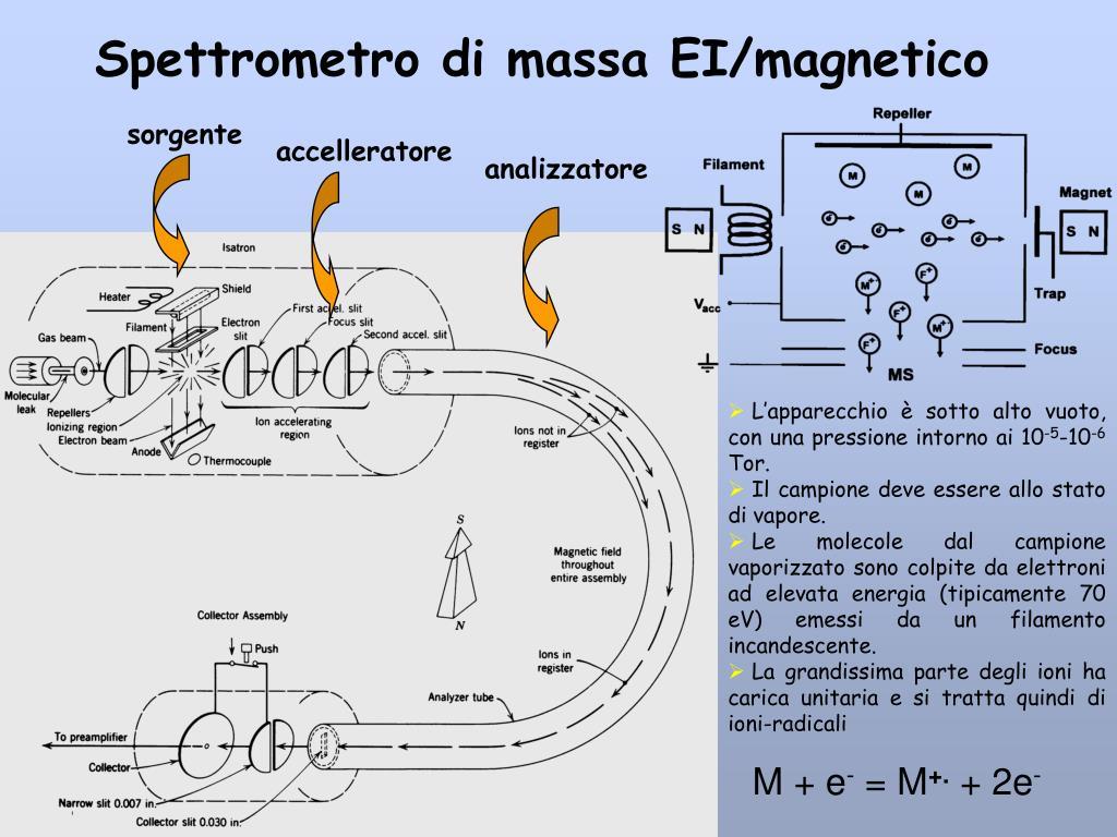 Spettrometro di massa EI/magnetico