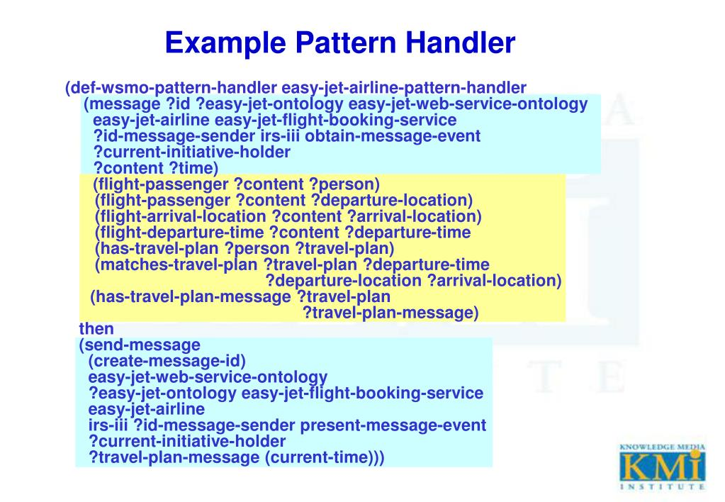 Example Pattern Handler