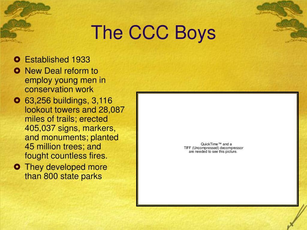 The CCC Boys