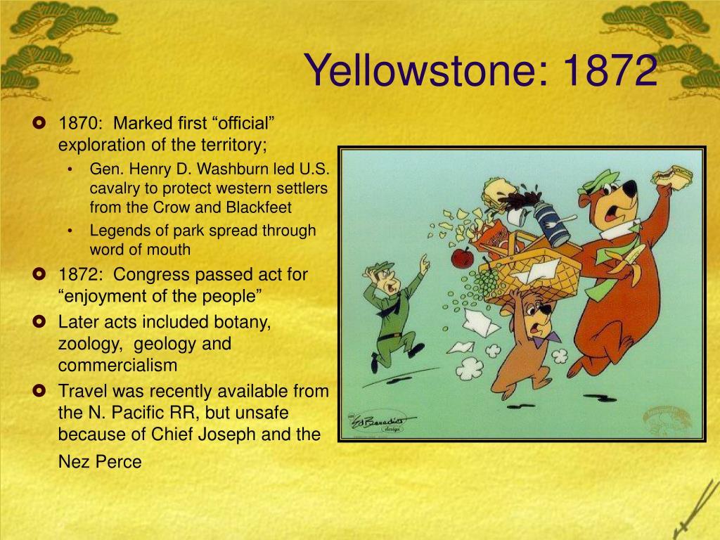 Yellowstone: 1872