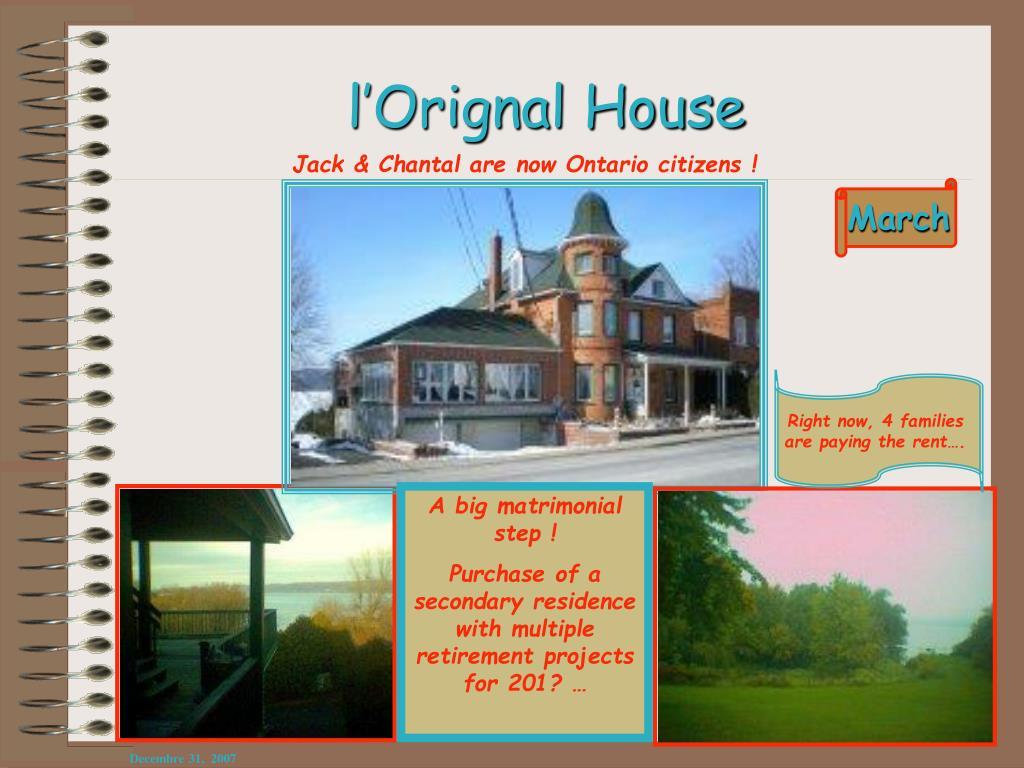 l'Orignal House