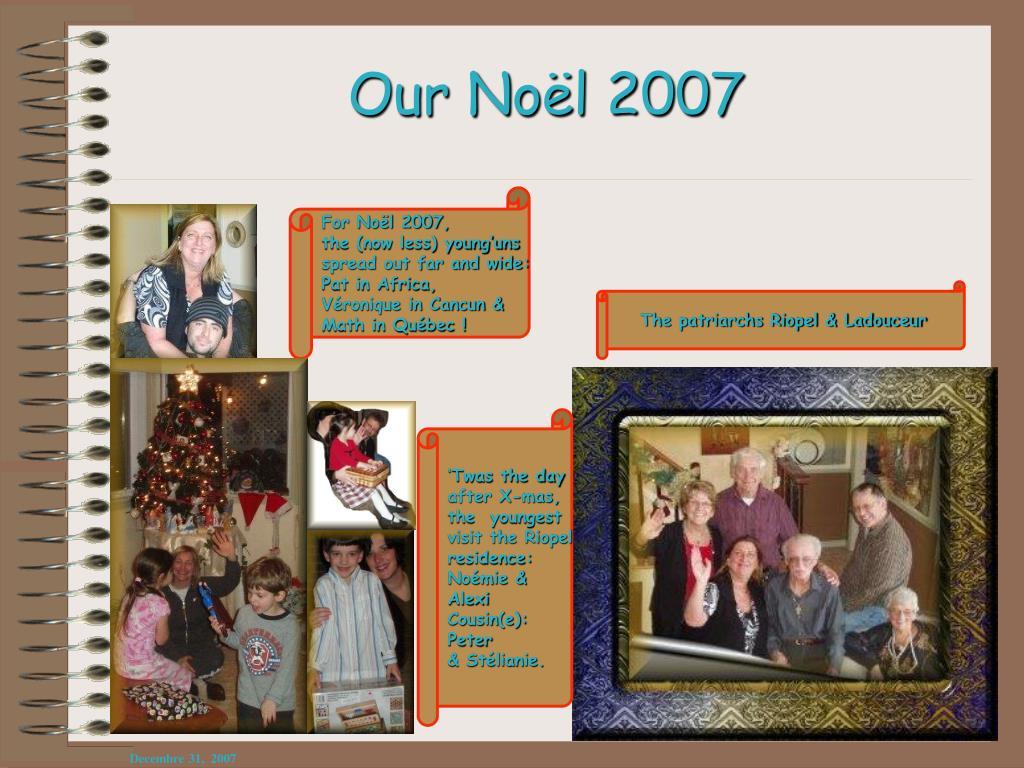 Our Noël 2007
