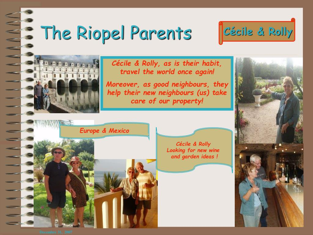 The Riopel Parents